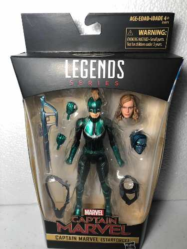 Captain Marvel Star Force Marvel Legends Series Exc Target