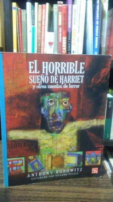 El Horrible Sueño de Harriet y otros cuentos, Anthony
