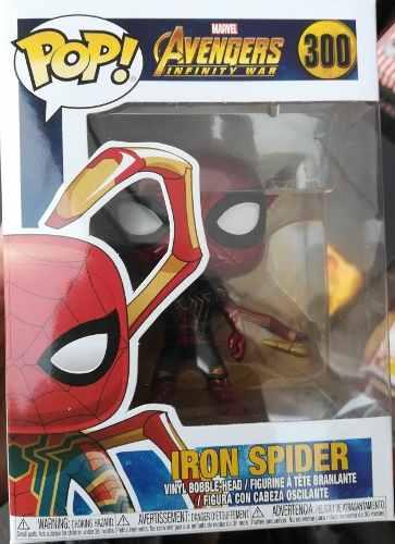 Figura Funko Pop De Iron Spider Ver 2 Avengers Infinity War