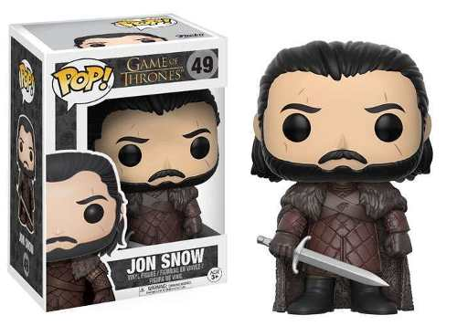 Funko Pop Game Of Thrones Jon Snow 49 Funko Series