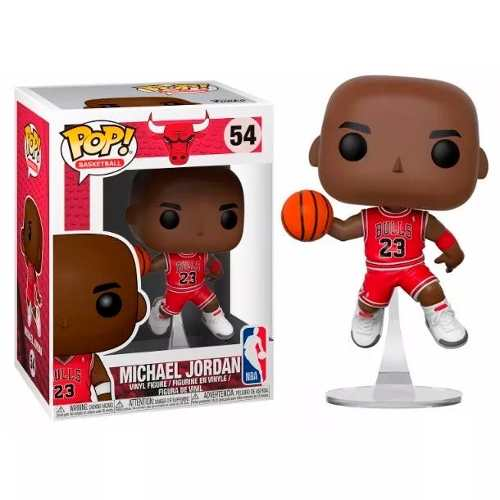 Funko Pop Michael Jordan #54 Chicago Bulls Original Oferta