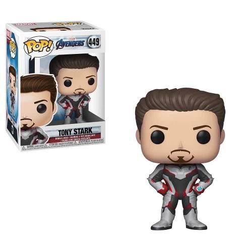 Funko Pop Tony Stark - Iron Man Avengers Endgame