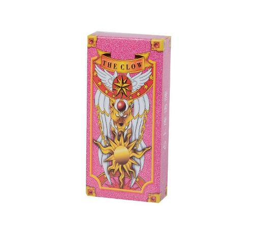 Genial Set De Cartas Sakura Card Captor Version Rosa