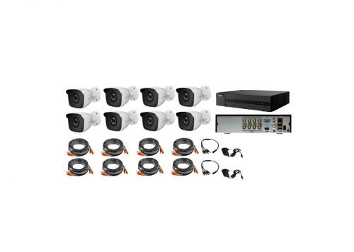 Kit Circuito Cerrado 8 Cámaras Hilook Hd 720p / 1mp