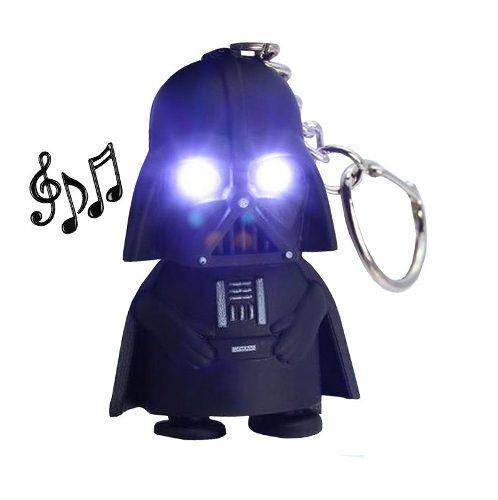 Llavero Mini Darth Vader Luz Led Sonido Star Wars