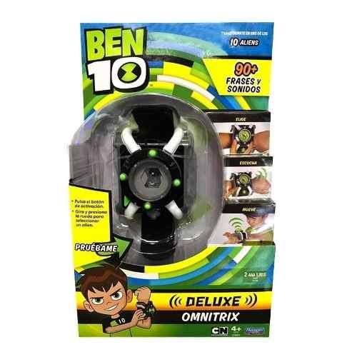 Reloj Omnitrix Ben 10 Con 100 Frases Y Sonidos En Español !