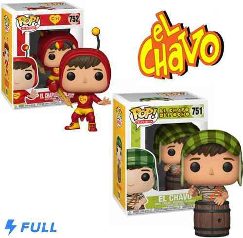 Set 2 Funkos El Chavo #571 + Chapulin Colorado #752 Env Grat