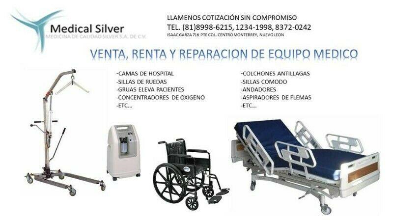 renta venta y reparacion de equipo medico