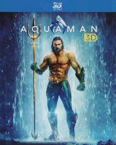 Aquaman Dc Jason Momoa Pelicula Blu-ray 3d