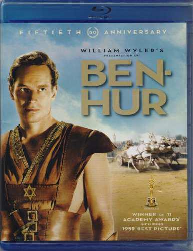 Ben-hur 50 Aniversario 1959 Charlton Heston Pelicula Blu-ray