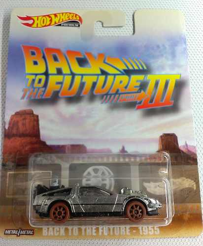 Delorean Volver Al Futuro 3 Hot Wheels, Premium