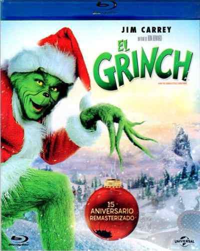 El Grinch 15 Aniversario Jim Carrey Pelicula Blu-ray