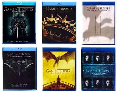 Game Of Thrones Juego De Tronos Paquete 6 Temporadas Blu-ray