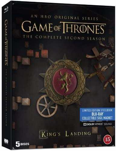 Game Of Thrones Juego Tronos Temporada 2 Steelbook Blu-ray