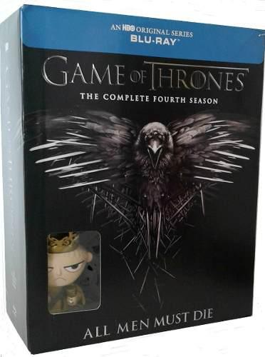 Game Of Thrones Tronos Temporada 4 Blu-ray + Funko Joffrey
