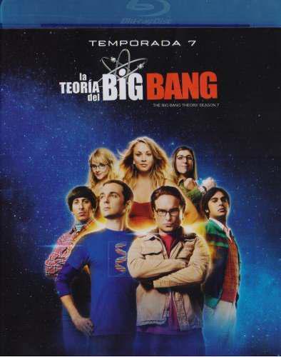 La Teoria Del Big Bang Theory Temporada 7 Siete Blu-ray