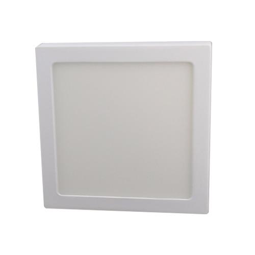 Luminario Led Sobreponer -b Cuadrado Luz Blanca 12w Adir