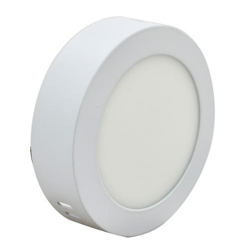 Luminario Led Sobreponer -b Redondo Luz Blanca 12w Adir