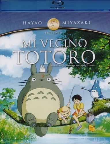 Mi Vecino Totoro Hayao Miyazaki Studio Ghibli Blu-ray