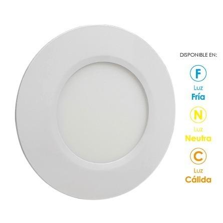 Panel Led Slim Empotrable Techo Spot 12w Foco Luz Calido