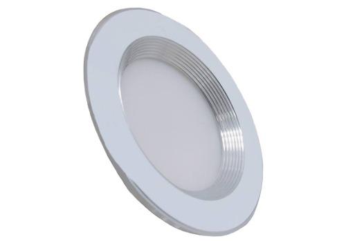 Plafon Led 9w Spot Bote 8 Cm Luz Blanca O Calida Acab Blanco