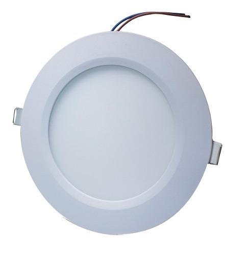 Plafon Led 9w Spot Bote Integral 12 Cm Diam Luz Blanca Fria