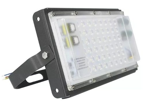 Reflector Luminario Led 50w Potente Iluminación Ultra