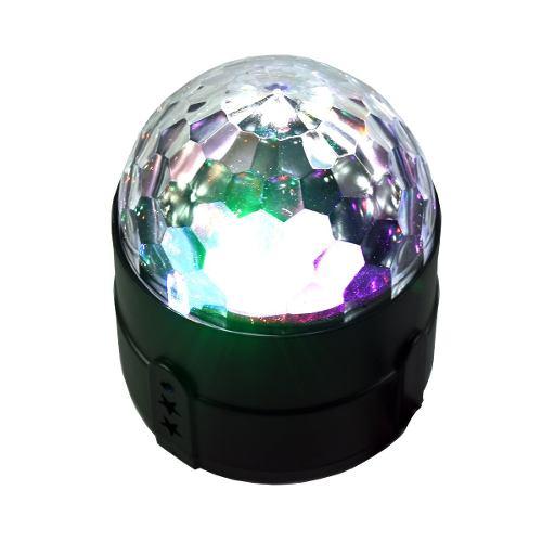 Reflector Luz Led De Colores Estrobo Rgb Cable Usb L-s06 /a