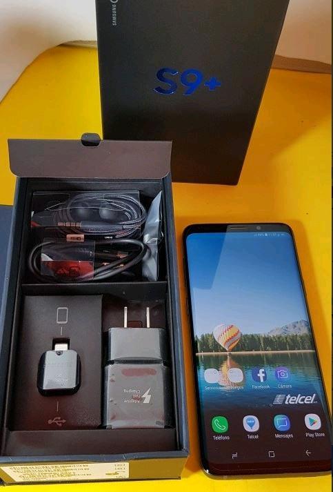 Samsung Galaxy s9 plus liberado