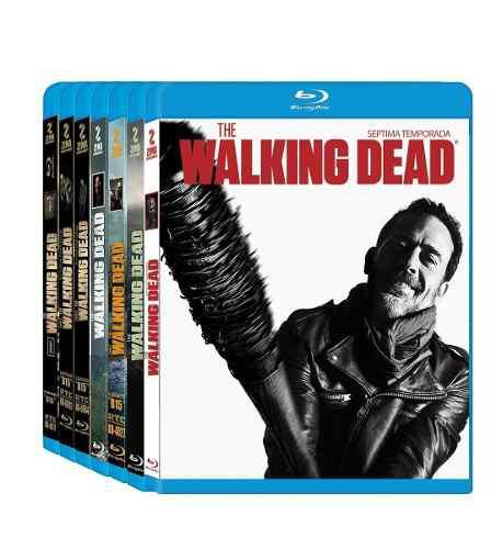 Serie The Walking Dead, Boxset, Temporada 1-7 Blu-ray, Promo