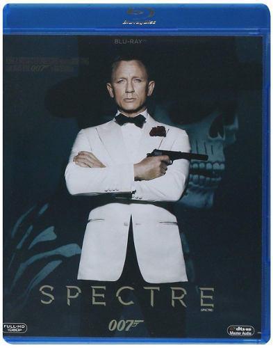 Spectre James Bond 007 Daniel Craig Pelicula Blu-ray