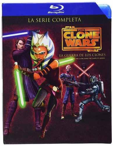 Star Wars La Guerra De Los Clones Serie Completa Bluray
