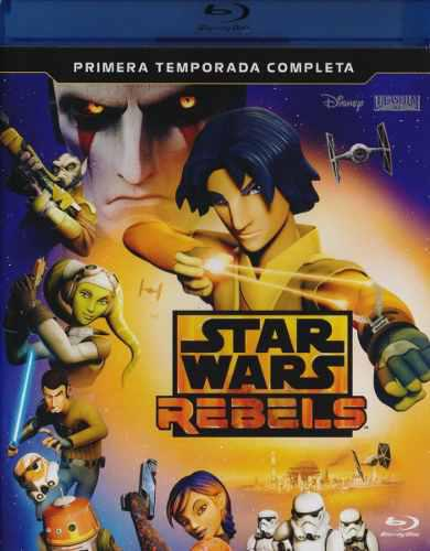 Star Wars Rebels Primera Temporada 1 Uno Blu-ray