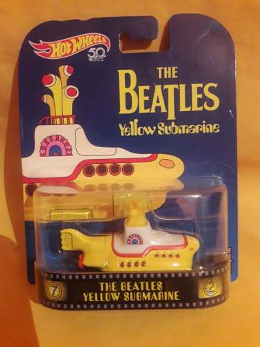 The Beatles Yellow Submarine - Hot Wheels Retro