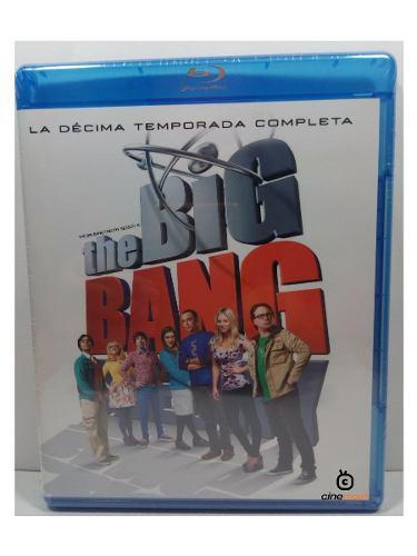 The Big Bang Theory Decima Temporada 10 Serie Bluray