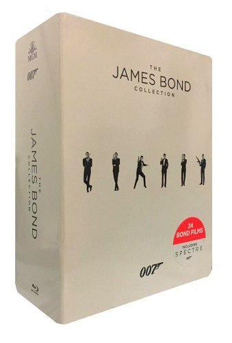 The James Bond 007 Collection Boxset 24 Peliculas Blu-ray