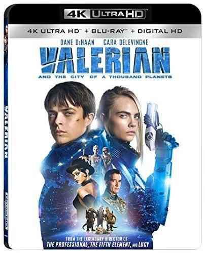 Valerian And The City Of A Thousand Planets 4k Uhd + Blu Ray