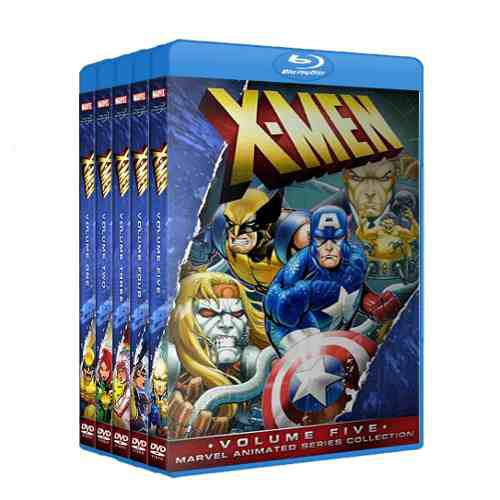 X Men 90s Serie Retro Completa 1-5 Latino Bluray Coleccion