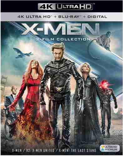 X Men Trilogy 4k Uhd, Bluray, Digital X Men,x Men 2,x Men 3