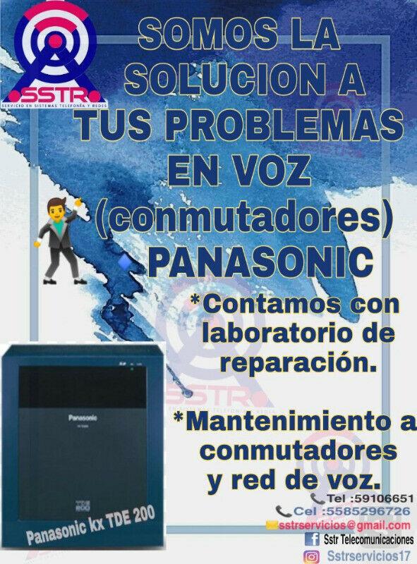 reubicacion de conmutadores teléfonos y aparatos.