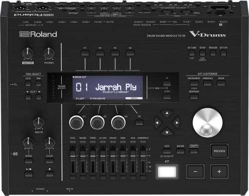 Módulo De Percusión Y Sonido Para Batería, Roland Td-50