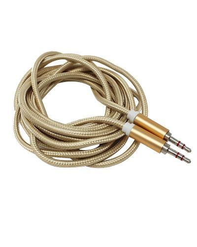Cable Auxiliar 3.5mm Tipo Agujeta 3 Mts Celular Audio Fh3