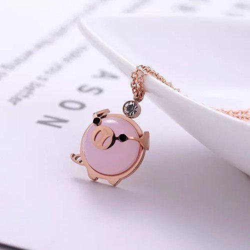 Collar De Cerdito Mini Pig Puerquito Cochinito