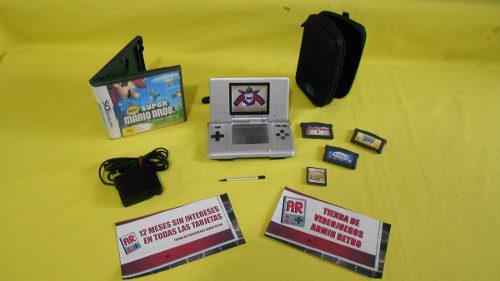 Consola Nintendo Ds Con 6 Juegos Para El Día Del Padre