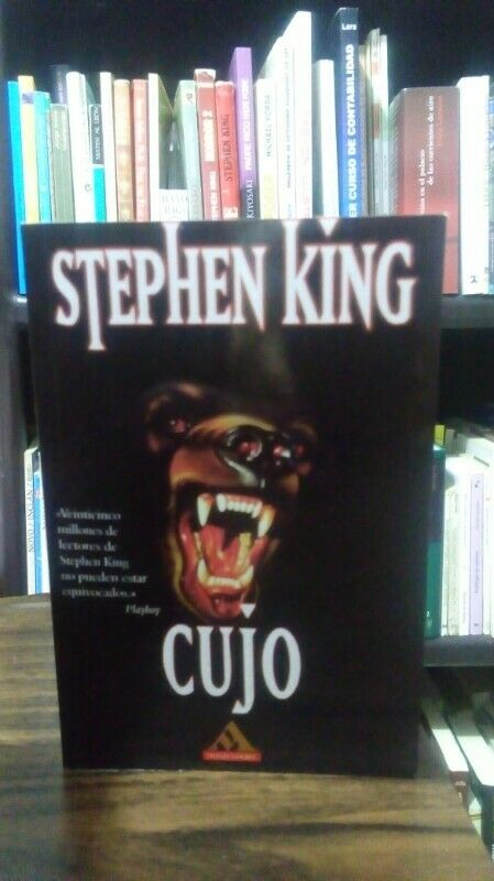 Cujo, Stephen King, libro