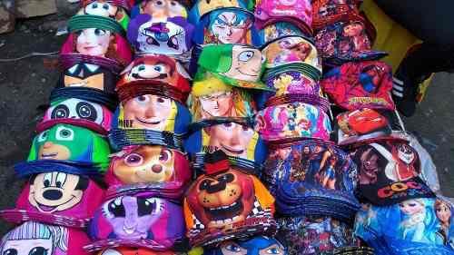 Gorras De Super Héroes Y Caricaturas Para Niñas Y Niños