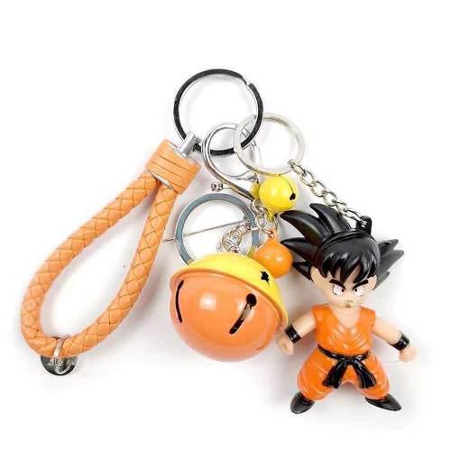 Llavero Goku Con Luz Regalo Dis Del Padre Papa Envío Gratis
