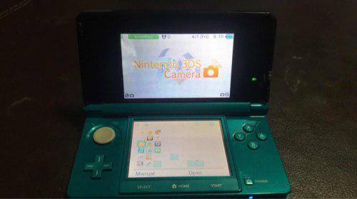 Nintendo 3 Ds Con Cargador Y Memoria Con Juegos