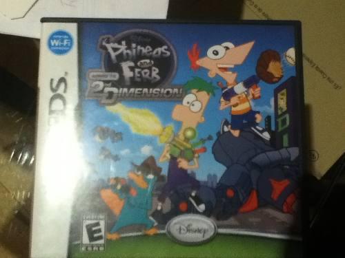 Nintendo Ds 95 Video Juegos Y El De Phineas And Ferb 2da