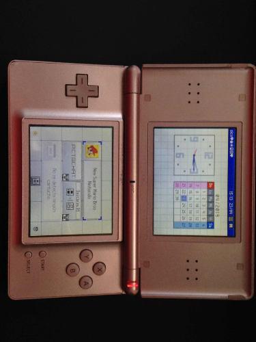 Nintendo Ds En Buenas Condiciones Color Rosa